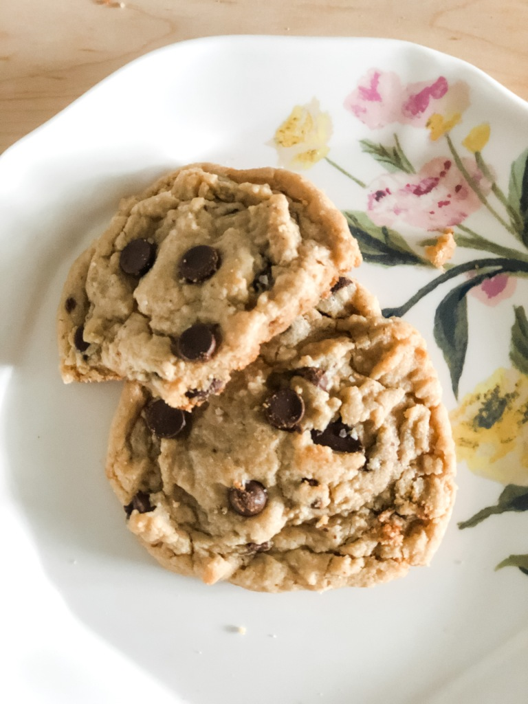 One Southern Belle, Salted Peanut Butter Chocolate Chunk Cookies