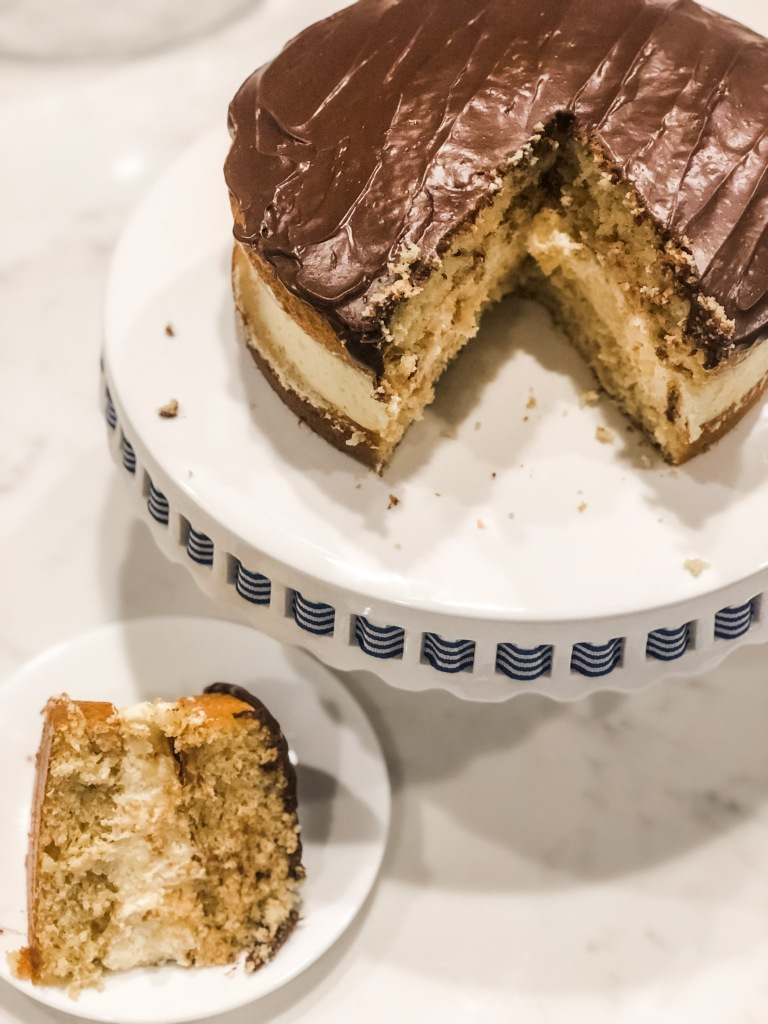 One Southern Belle Boston Cream Pie Cake
